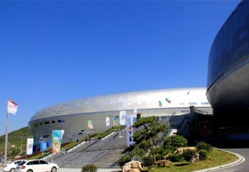 枣庄市新体育馆发电机房