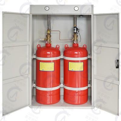 柜式七氟丙烷灭火装置-双柜90L