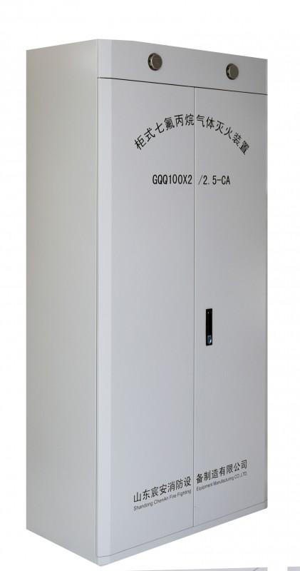 柜式七氟丙烷灭火装置-双柜100L